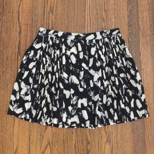 BNWT Banana Republic Pleated Skirt