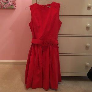 BB Dakota red dress