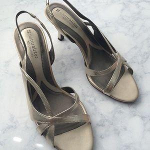 Naturalizer Shoes - Light gold heels