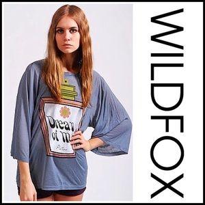Wildfox Tops - ❗️1-HOUR SALE❗️WILDFOX Tunic Tee Dream Potion