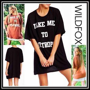 Wildfox Other - WILDFOX Tunic Mini Barefoot Tee Dress