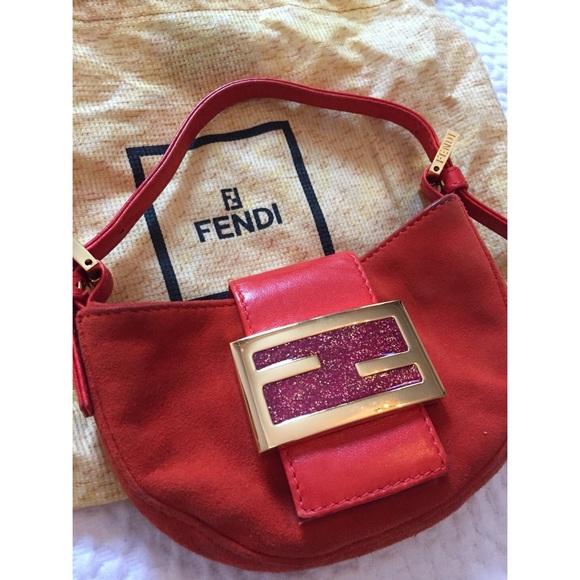 5c234b34e153 FENDI Handbags -  Fendi  Mini Croissant Hobo Bag