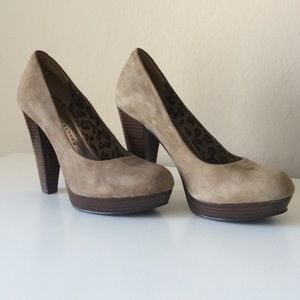 Chinese Laundry Shoes - Chinese Laundry Kooper Suede heels