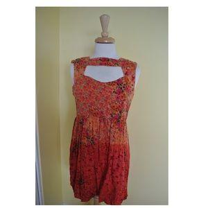 Urban renewal floral dress