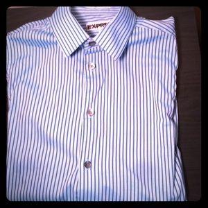 Express Men's extra-slim fit 1MX Shirt (size XS)