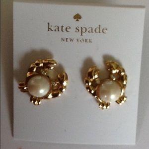 "Kate spade ""Crab"" Earrings Price Firm"