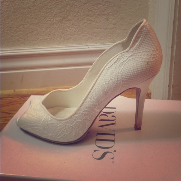69 david s bridal shoes david s bridal white lace