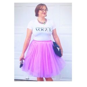 C'est Ca New York Dresses & Skirts - C'est Ca NY lilac tulle skirt