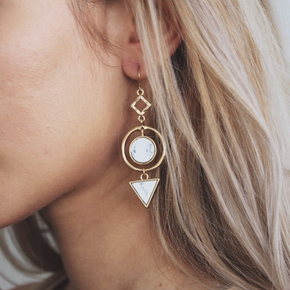 Revolt Society Jewelry - • The Marble Earrings •