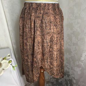 C O C Dresses & Skirts - Animalprint tulip skirt w/pockets FINAL CLEARANCE