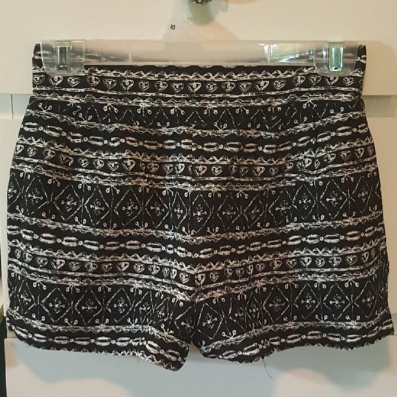 80% off PacSun Pants - Tribal Print High Waisted Soft Shorts from ...