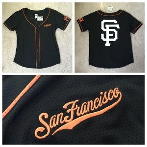 PINK Victoria's Secret Tops - San Francisco Giants Baseball Jersey