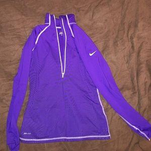 Nike Pro 3/4 zip!