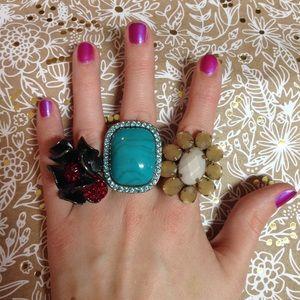 Ann Taylor Loft rings