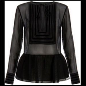 Rachel Zoe Tops - Sophisticated black Rachel Zoe top