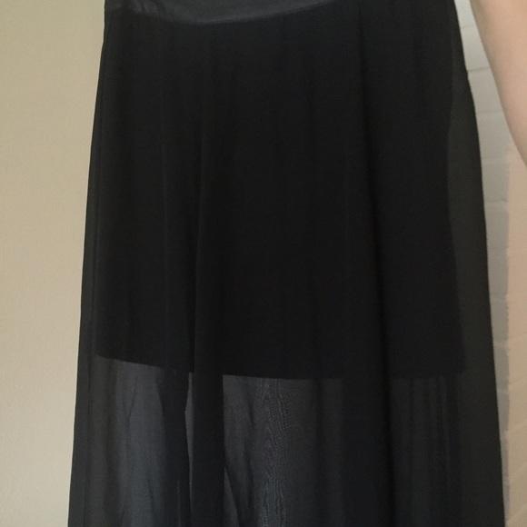 58 forever 21 dresses skirts black see through