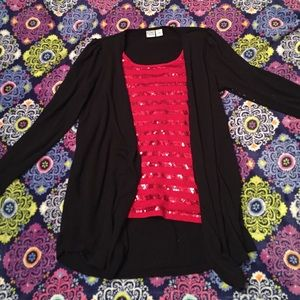 Tops - Girls size L sequence top