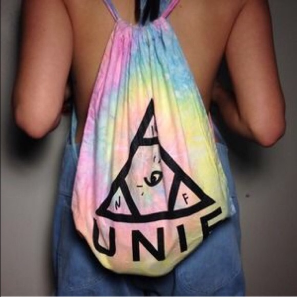 UNIF - UNIF I Dye Tie Dye Drawstring Bag from Noëlle's closet on ...