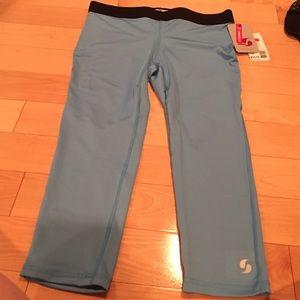 Soffe Pants - ❤️Light blue workout leggings NWT