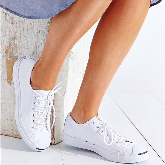 a9a35558bd9d Converse Shoes - Converse Jack Purcell Jack Ox white leather