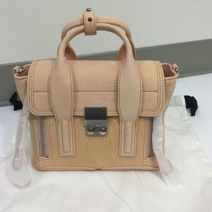 3.1 Phillip Lim Pashli Mini Satchel- Peach