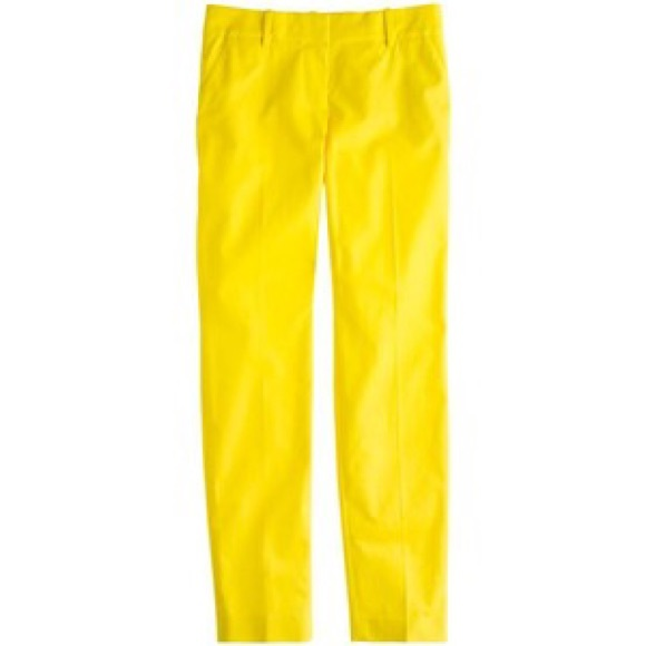 Brilliant Mustard Pants  Polyvore UK