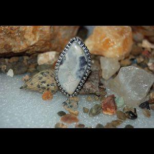 handmade & handcrafted gemstone jewelry  Jewelry - Earthy Outback Jasper Ring Size 9 1/2