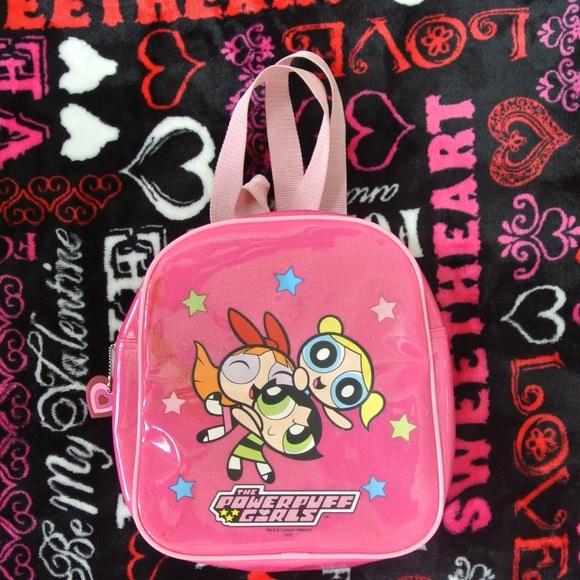 f0bbe04d491d Vintage Powerpuff Girls Mini Backpack 💗💥. M 5751bde536d59491c0006173