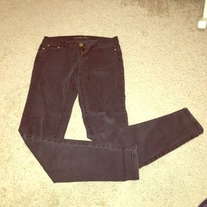 Faded Black Michael Kors Skinny Jeans