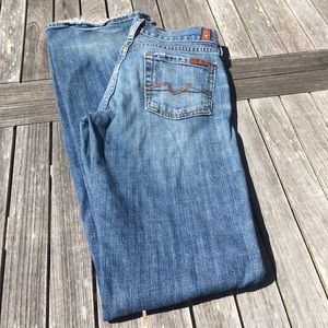 7 For All Mankind Bootcut Jeans 0