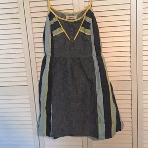 Staring at Stars Dresses & Skirts - Denim, Cutout Back Sundress