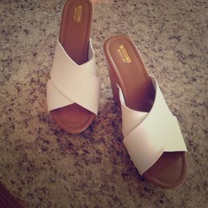 Wedge heels from Florida never worn size 8