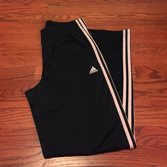 64 off adidas pants adidas black and light pink track sweats adidas black and light pink track sweats mozeypictures Images