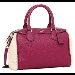 🆕 Coach Mini Bennet Pebbled Leather