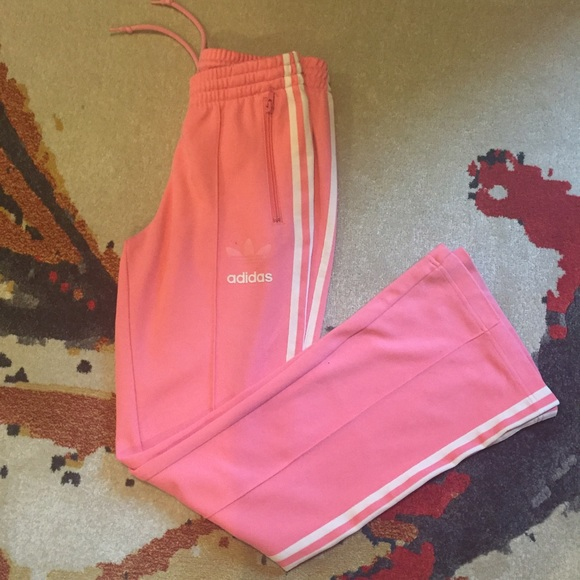 75 off adidas pants cute light pink adidas track pants from out cute light pink adidas track pants mozeypictures Images
