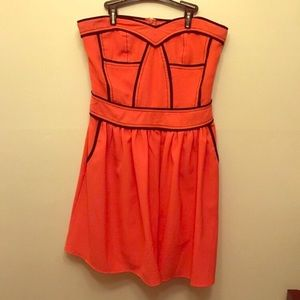 Orange and black Sugarlips dress