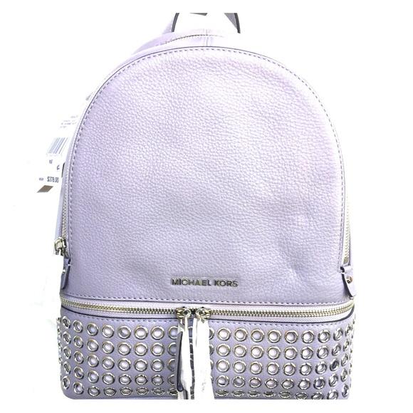 93deae8f2b86 MICHAEL Michael Kors Bags | Michael Kors Medium Rhea Zip Grommet ...
