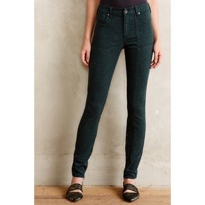 Anthropologie Jacquard Utility Jeans