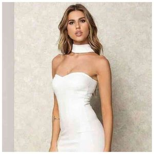 Dresses & Skirts - *TODAY ONLY CLEARANCE* New S white choker dress