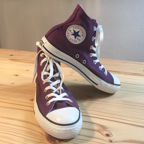 Chuck taylor Shoes - Brand new dark purple Converse or Chuck Taylor 0dd8d9288