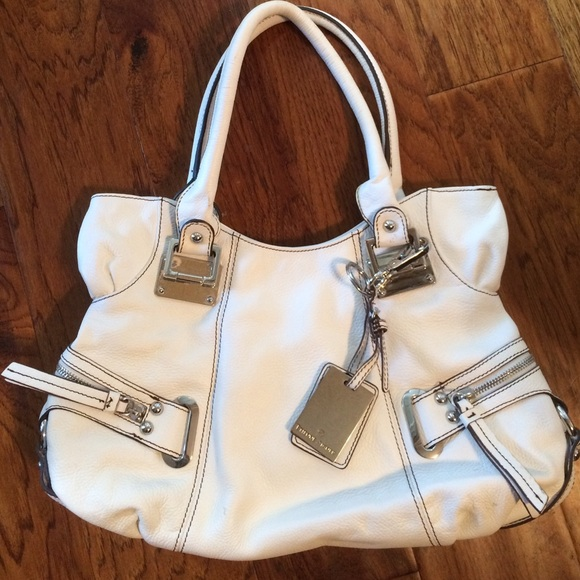 83% off Etienne Aigner Handbags - **SALE** Etienne Aigner White ...