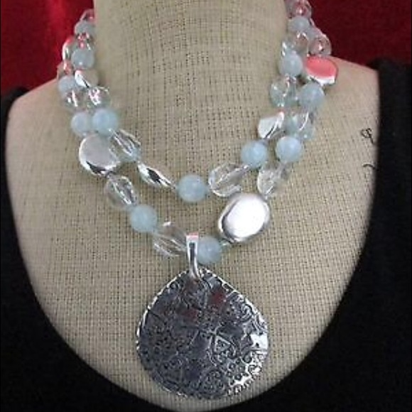 Premier Designs Jewelry Casual Cool Two Strand Necklace Poshmark