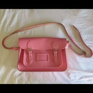 Cambridge Satchel pink crossbody bag