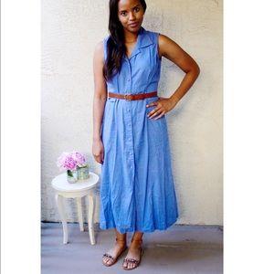 Vintage Erika Linen Dress