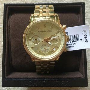 MICHEAL KORS Ritz ladies gold watch