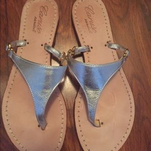 Caruso Shoes - metallic sandals