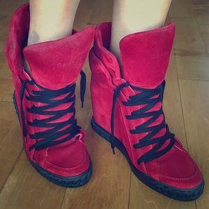 Casadel Shoes - Casadel wedge sneakers