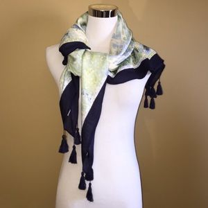 Accessories - Cool Floral Fantasy Scarf