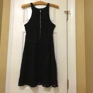 Hot Black Express Dress