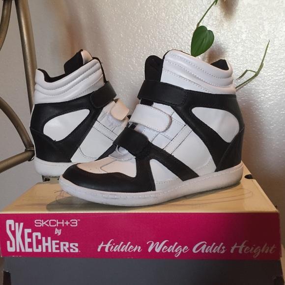 skechers hidden wedge sneakers Sale,up